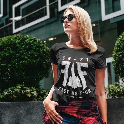 The FAF SR-71 Black Tshirt