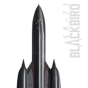 SR-71 Artwork