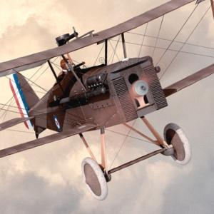 WWI SE-5a Artwork